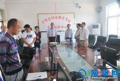 平舆县委副书记、县长赵峰巡视高考工作