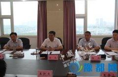 市纪委书记杨骁到源汇区调研指导工作