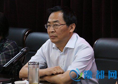 区委常委,纪委书记陈永斌讲话