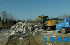 胡族铺镇开展环境污染专项整治工作
