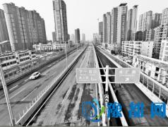 郑州农业路高架昨日顺利试通车 多个匝道可上桥