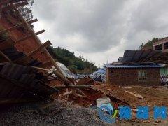 广东五华县发生山体崩塌 造成2人死亡1人受伤