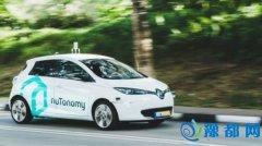 全球首批无人驾驶出租车在新加坡上路(图)