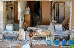 意大利强震后又发生逾500次余震 房屋倒塌(图)