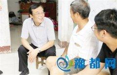 市委书记马正跃察看全市脱贫攻坚专项整改会议精神落实情况
