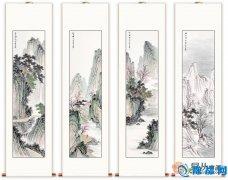 中国风酒店大堂挂画案例 和韵清幽中国风