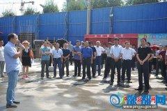 平舆县开展转型攻坚暨项目建设大会观摩活动