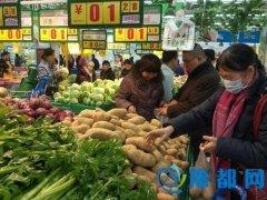 郑州市政府今起投放储备菜 52家门店任你选