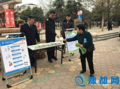 县卫计委开展3.15食品安全宣传活动(图)