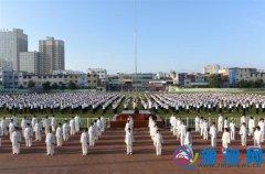 泌阳县举行2017年全民健身日活动启动仪式