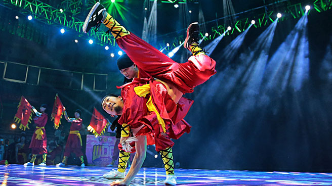 WDG第五届中国(郑州)国际街舞大赛总决赛完美收官