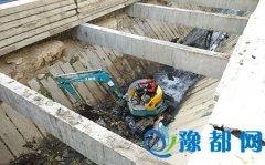 区住建局对陈庄沟进行全面清淤疏通