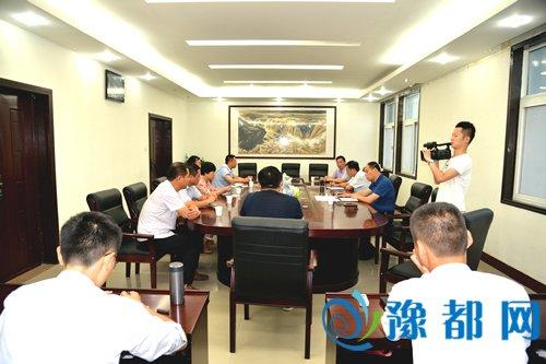宁陵县召开G343快速通道项目建设加压促进会