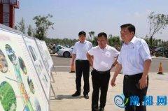 山东寿光三江集团莅临示范区考察洽谈观光农业旅游项目