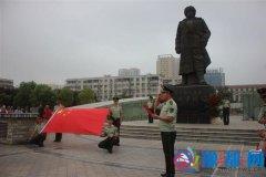 驿城区消防大队组织八一建军节纪念活动