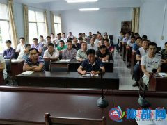 泌阳县农机局开展强化农机安全操作培训