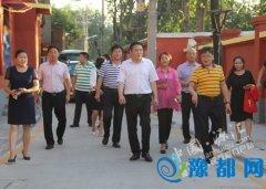 区长王凯杰带队督导观摩文明城市创建工作