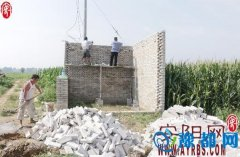汤阴县伏道镇大力实施土地整理项目