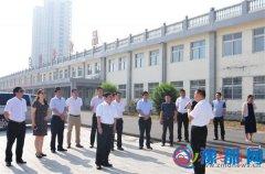 重庆市丰都县委书记一行来到泌阳进行参观考察