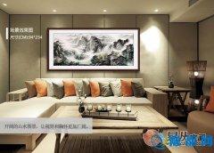 客厅沙发墙挂的画一般是多大的