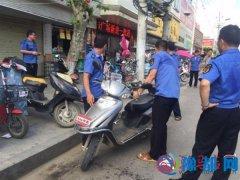 泌阳县综合执法局开展城市环境集中整治