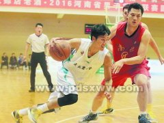 2016河南省男子篮球联赛开幕式在平举行