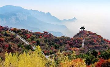 秋天最值得来的地方,最惊艳的秋色尽在青龙峡!
