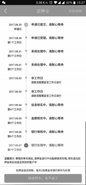 酷骑单车被指押金迟迟不退 郑州交运委称将督促解决
