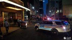 现场直击:爆炸发生后 纽约曼哈顿市面平静(图)