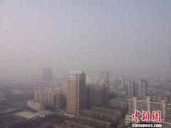 雾霾继续笼罩 河南25条高速实行管制(图)