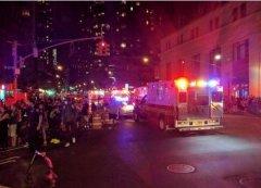 纽约曼哈顿垃圾箱疑被投放爆炸装置 致26人轻伤