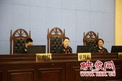 """温县法院院长亲审""""三资""""清理案 120余名基层干部旁听"""
