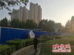 郑州地铁6号线 二里岗车站开始围挡施工