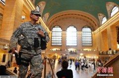 美国新泽西州火车站发现炸弹 排爆时爆炸无人伤亡