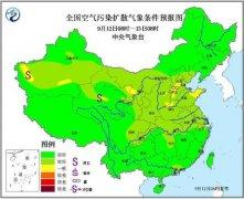 大气扩散条件转差 河南部分地区将有间歇性轻度霾