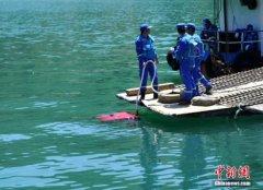 广元沉船事故现场 水下机器人再发现3具遗体