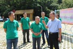 陕西周至国家级自然保护区来宝天曼保护区考察交流