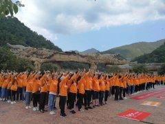 宝天曼景区高质量接待大型团队