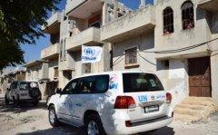 叙利亚宣布为期一周停火结束 救援车队遇袭12人死