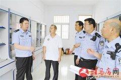 汝南县公安局深入中小学校等单位进行各类安保检查