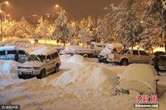新疆塔城地区雪灾灾情持续 近5400人受灾(图)