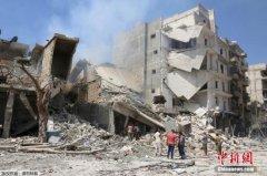 美俄角力致使叙利亚停火协议难以为继(组图)
