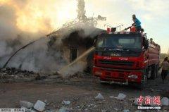 俄军方:叙人道救援车队遇袭时联军无人机位于事发地