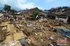 印尼西部暴雨引发山洪滑坡 致26人死亡19人失踪