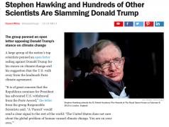 美国375名顶尖科学家联名批评特朗普