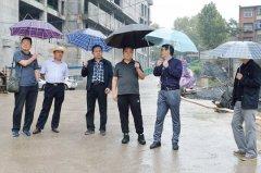 陈延辉带队检查双节期间建筑工地安全生产工作