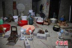 广西河池警方侦破特大制造毒品案缴获K粉659公斤