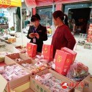 泌阳县铜山乡食药监所对节日热销食品进行检查