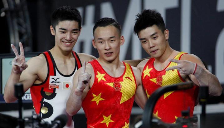 """中国选手时隔十年重获体操世锦赛男子""""全能王"""""""