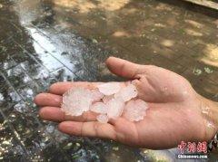 北京海淀、门头沟、密云、朝阳发冰雹黄色预警